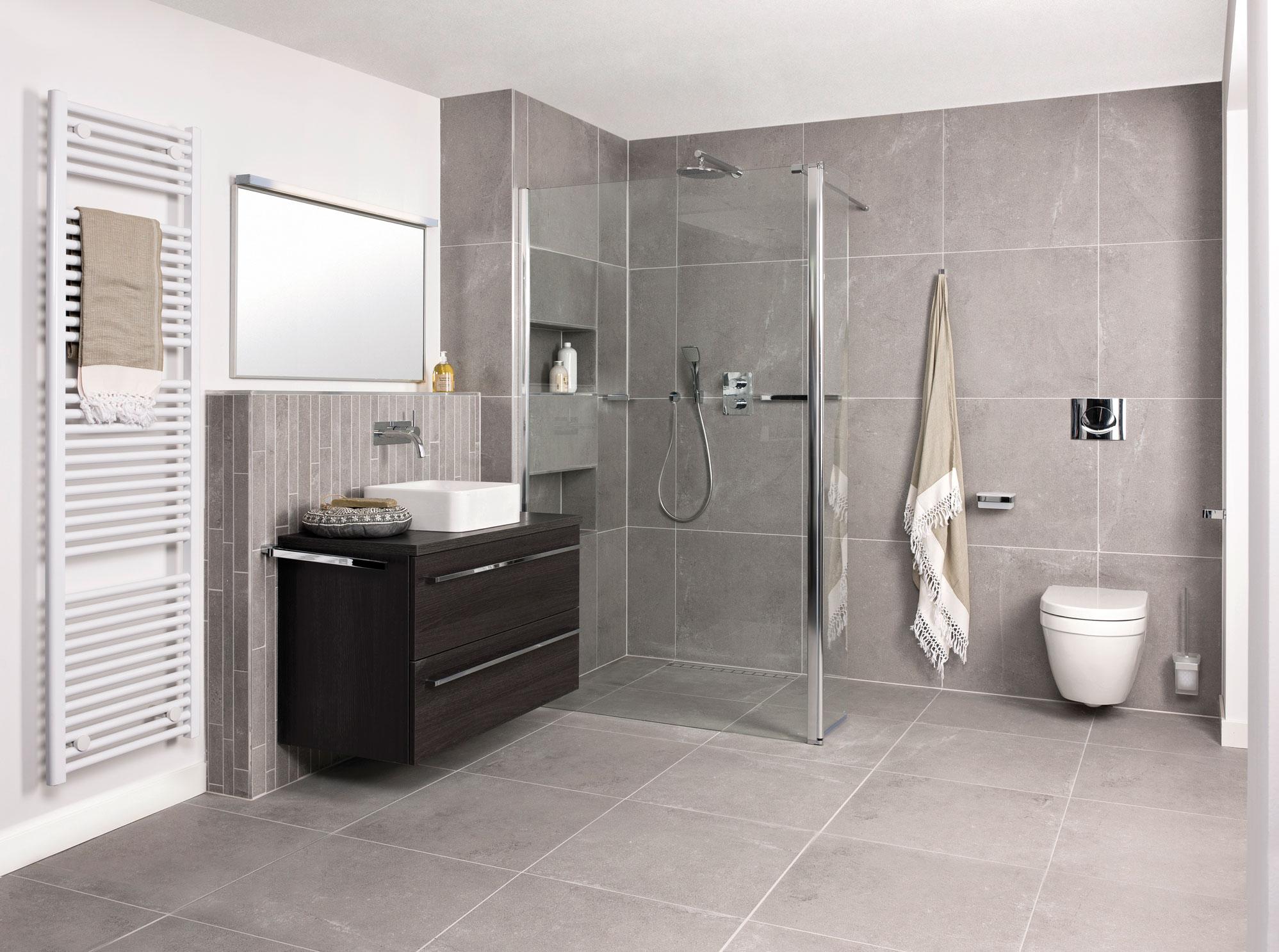 Hoekprofiel tegels badkamer plaatsen tgwonen
