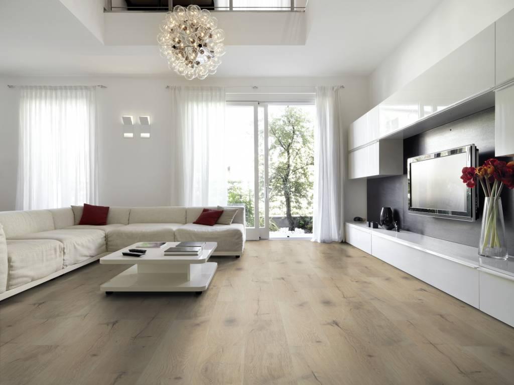 Vloertegels Woonkamer Voorbeelden : Vloertegels woonkamer houtlook eikenhout tgwonen