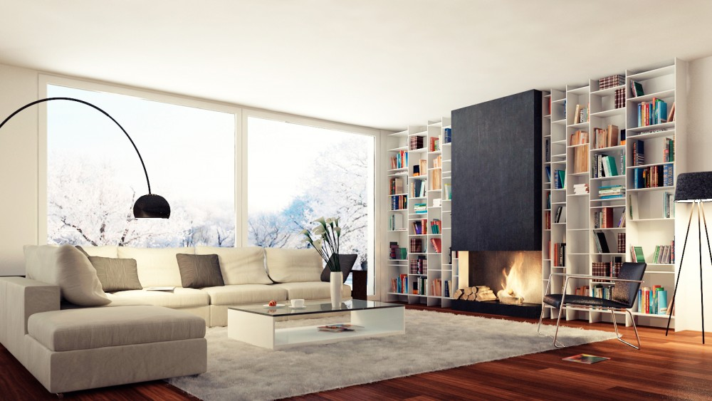 Plafond woonkamer verven kosten tg wonen woonmagazine for Huis verven inspiratie