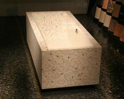 Bad maken van Tegels