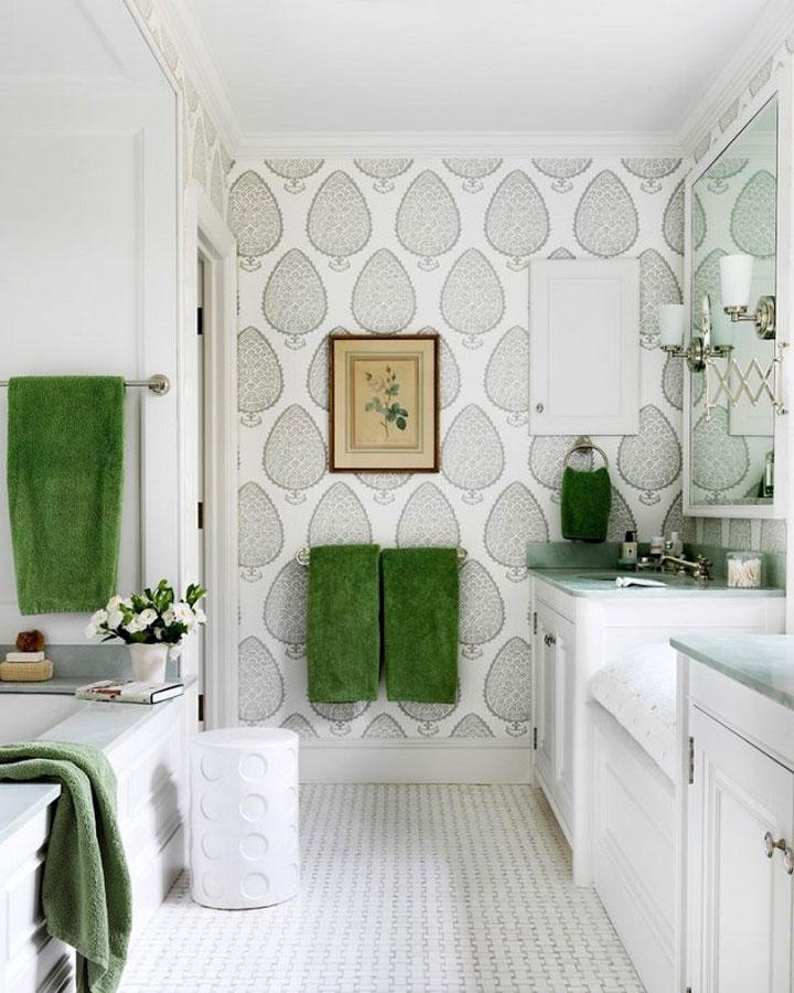 Emejing Behang Voor Badkamer Ideas - New Home Design 2018 - ummoa.us