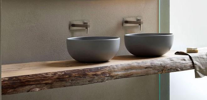 Tegelverf voor badkamer met sfeerverlichting Badkamer Tegelverf