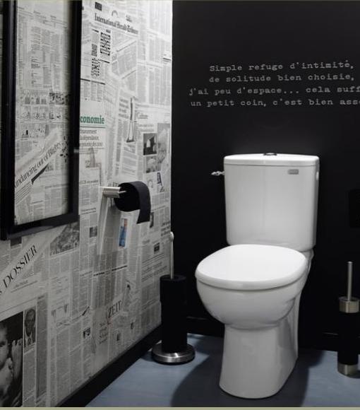 Welk formaat tegels in het toilet - Geen tegels in het toilet