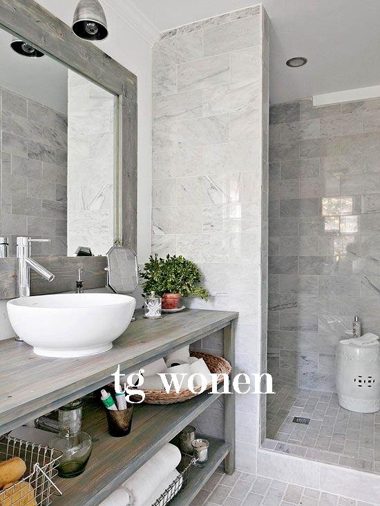 Badkamer goedkoop renoveren  TG WONEN Woonmagazine
