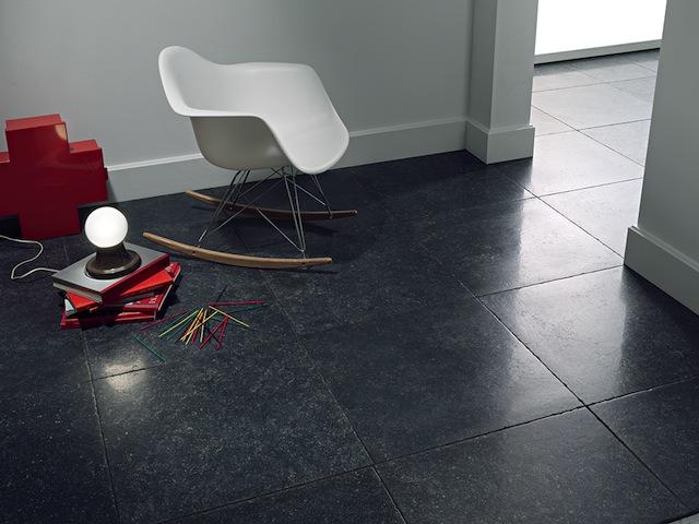 Belgisch hardsteen imitatie 60x60 tegels getrommeld COEM PIETRA BLU NATURALE 61X61