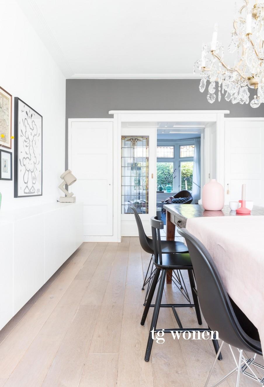 Kleur plinten kiezen woonkamer   tg wonen woonmagazine