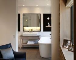 Metro tegels badkamer 10×20