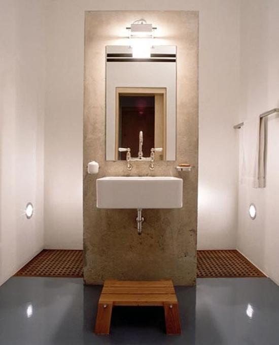 Welke kleur tegels in badkamer of toch geen tegels