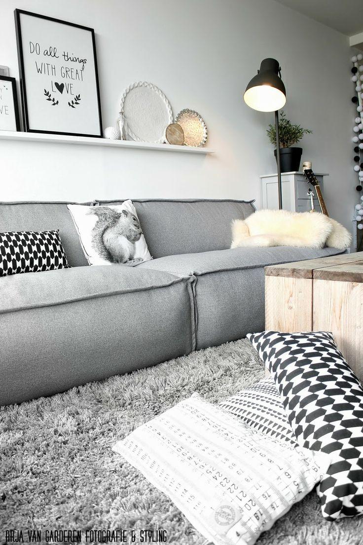 Kussens en vloerkleden inspiratie woonkamer | tg wonen shop