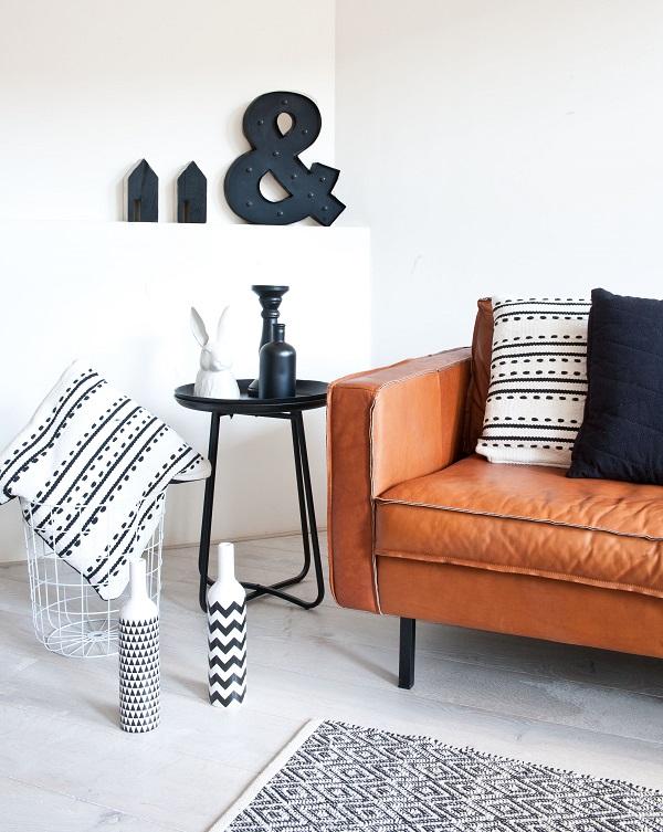 Kussens en vloerkleden inspiratie woonkamer