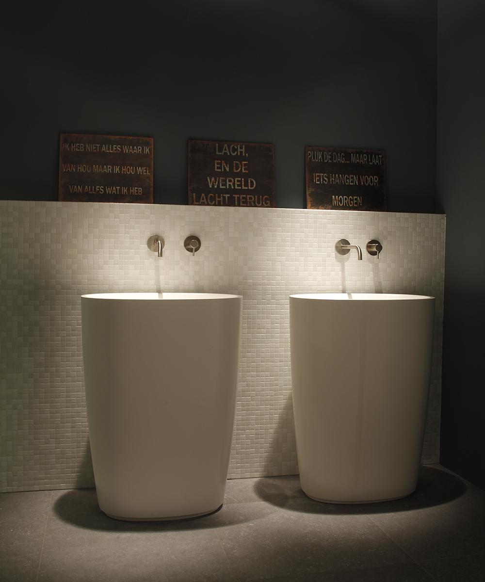Badkamer mozaiek tegels