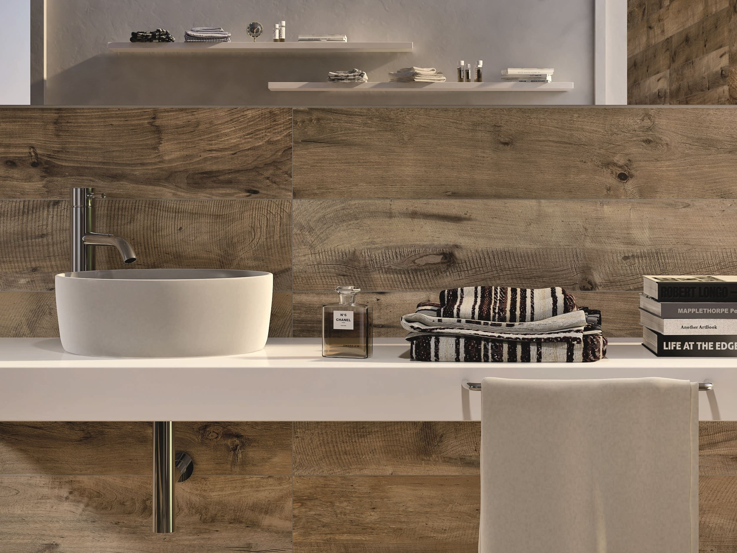 Keuken Mosa Tegels : Ennovy badkamer ontwerp met mosa tegels en gestukadoorde wanden
