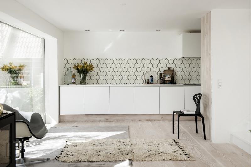Behang voor keuken achterwand - TG WONEN Woonmagazine