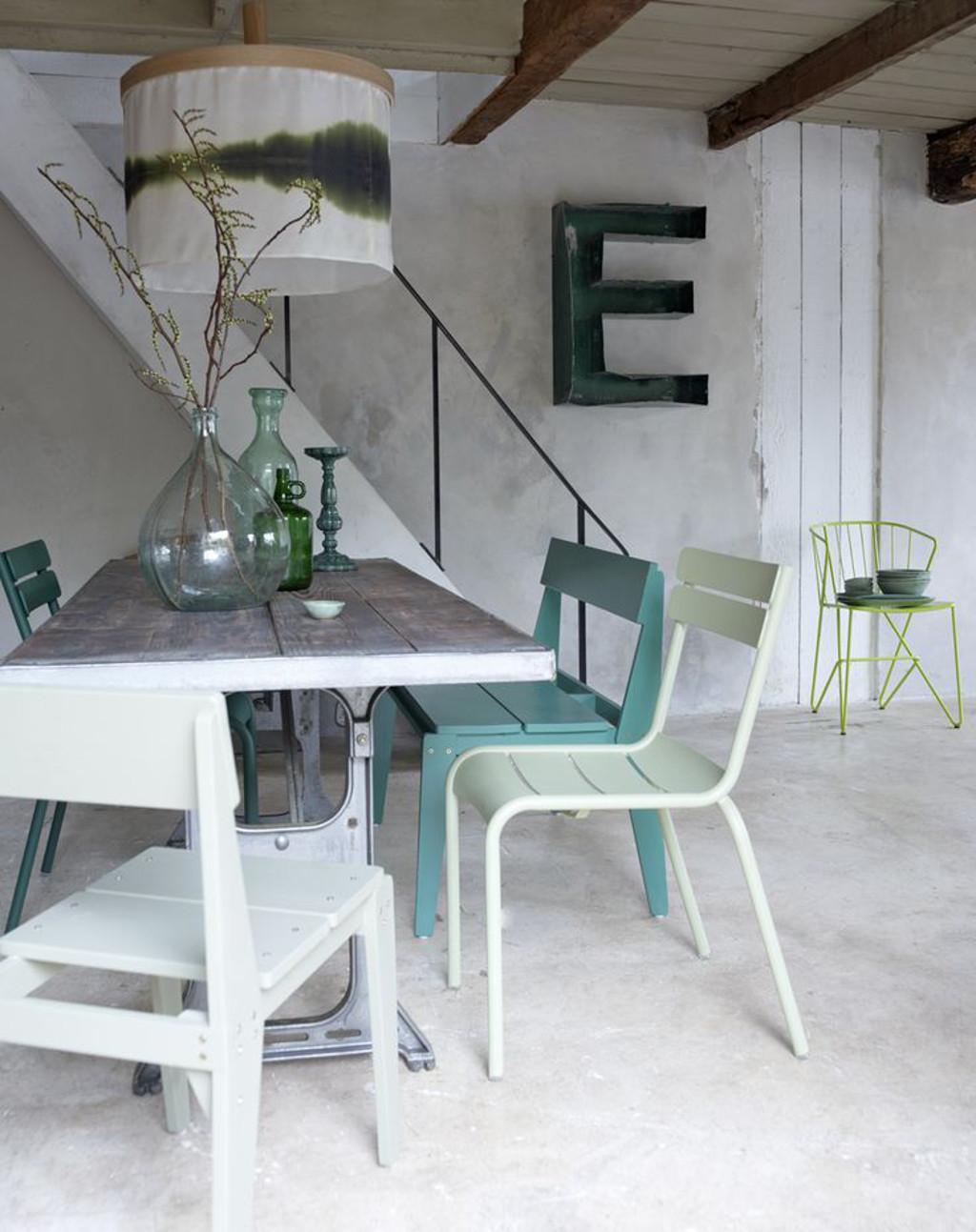 eetkamertafel hout wit  tg wonen woonmagazine, Meubels Ideeën