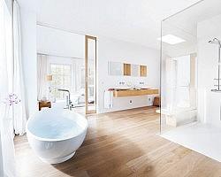 Houtlook tegels badkamer