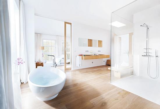 Houtlook tegels badkamer thomas gaspersz