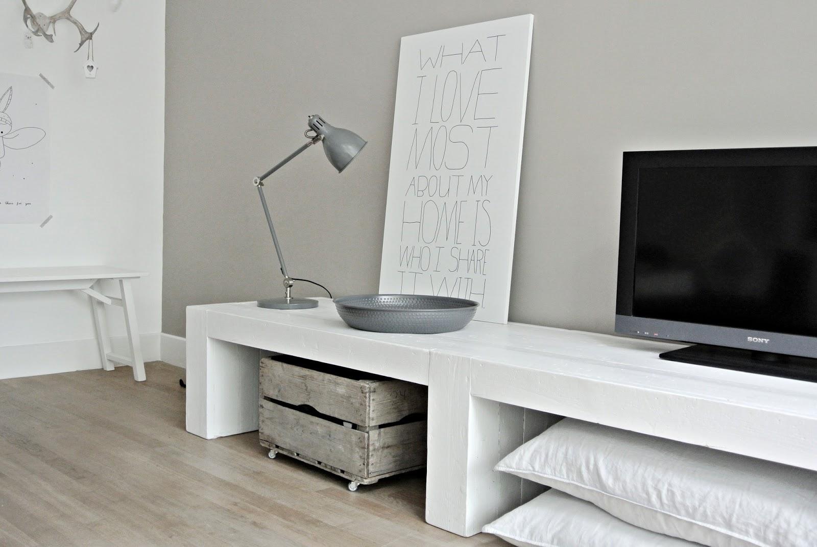 Tv meubel zelf maken   tg wonen woonmagazine