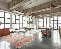 Betonvloer voor woonkamer