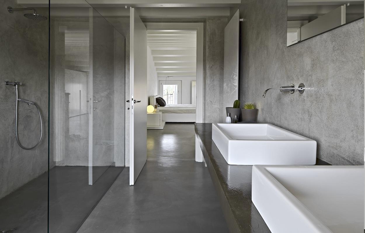 betonstuc badkamer prijs en ervaring tg wonen woonmagazine