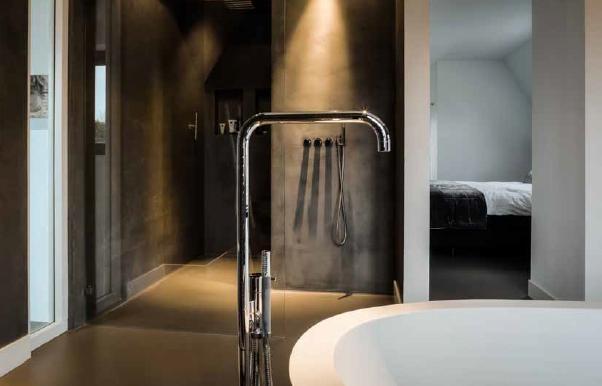 Betonstuc badkamer tg wonen