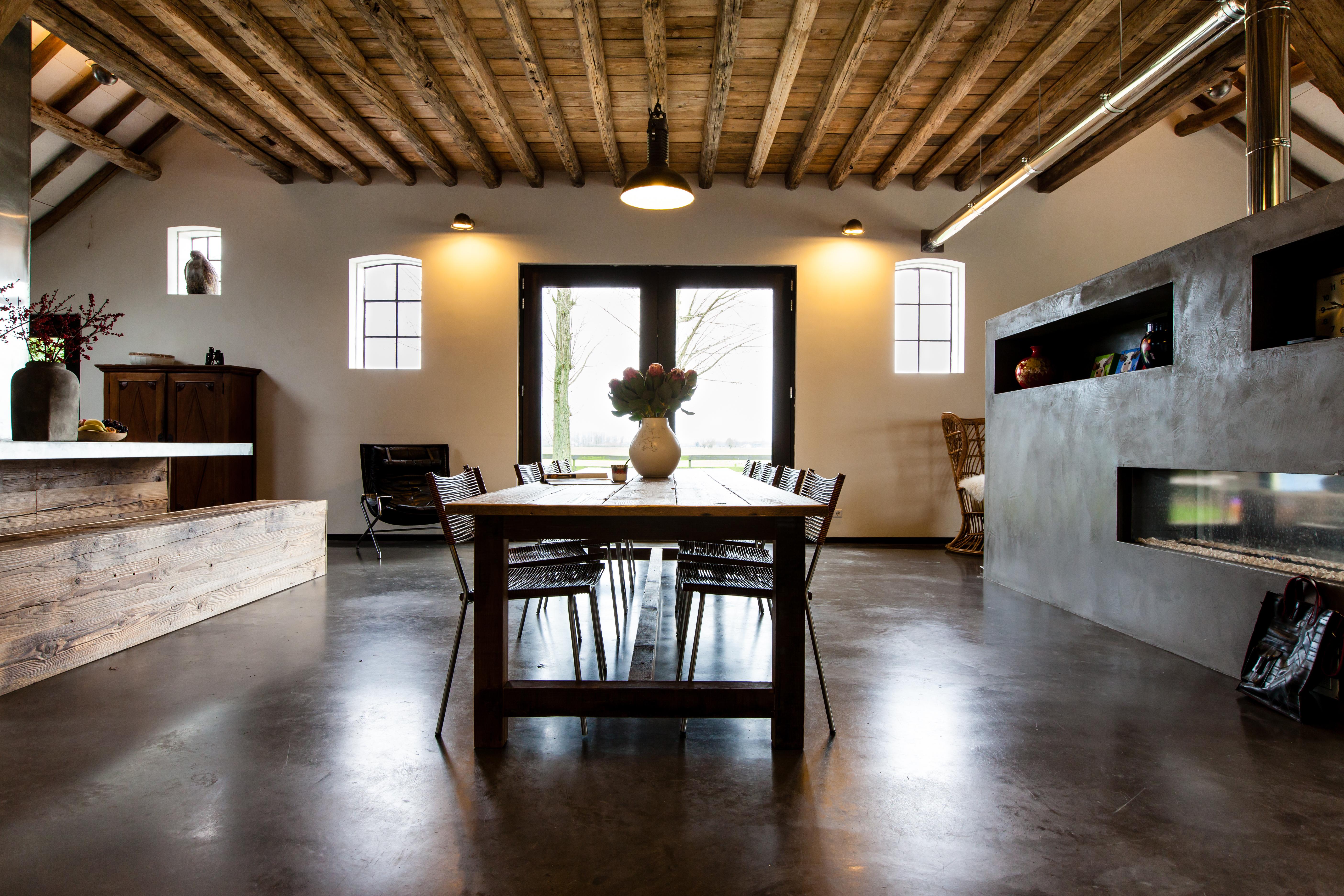 Betonvloer woonkamer prijs - THOMAS GASPERSZ