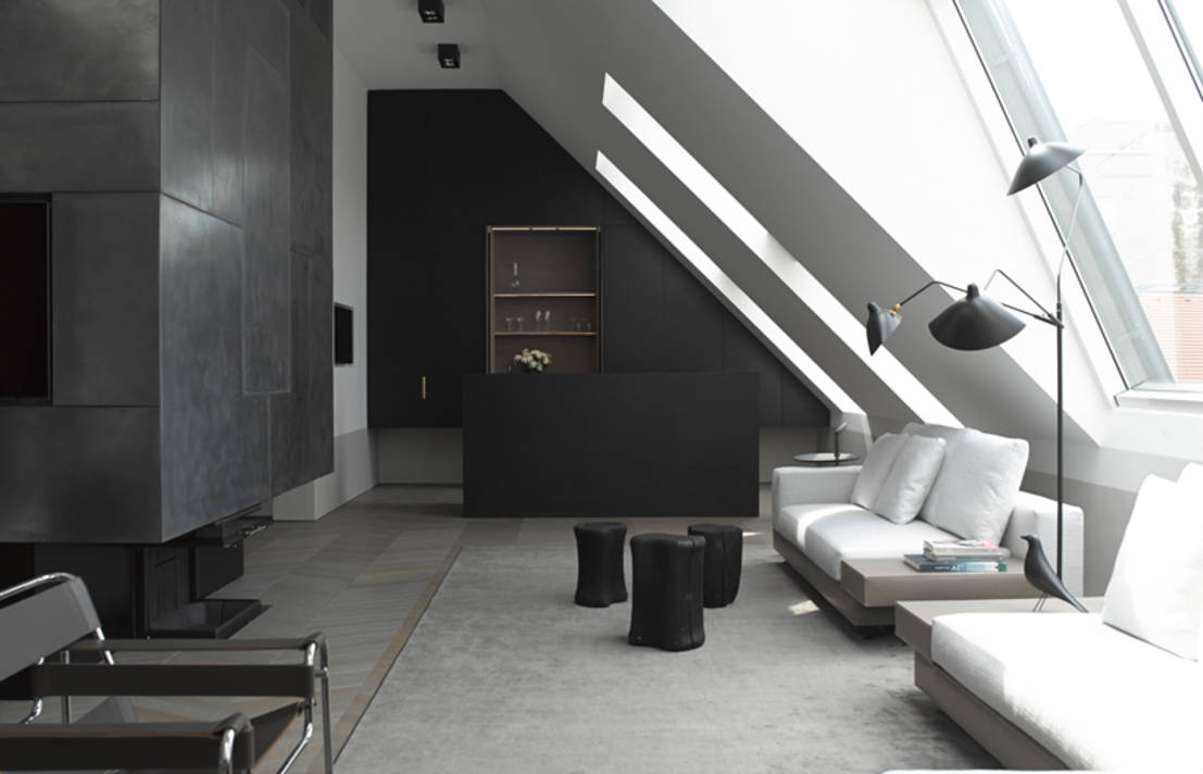 Welke kleur vloer bij licht eiken meubels tg wonen woonmagazine - Badkamer mansard ...