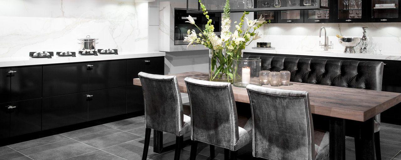 Wit marmer keuken achterwand
