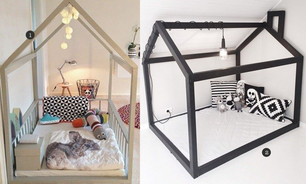 Kinderbed houten huis tg wonen woonmagazine - Slaapkamer fotos van het meisje ...