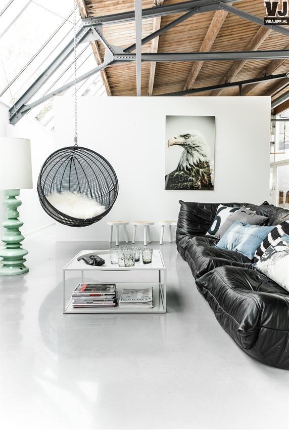 Design Hangstoel Binnen.Hangstoel Buiten Met Standaard Tgwonen