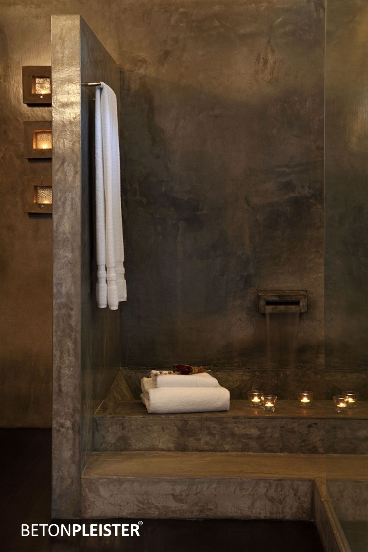 Alternatief voor tegels badkamer thomas gaspersz for Betonstuc zelf aanbrengen