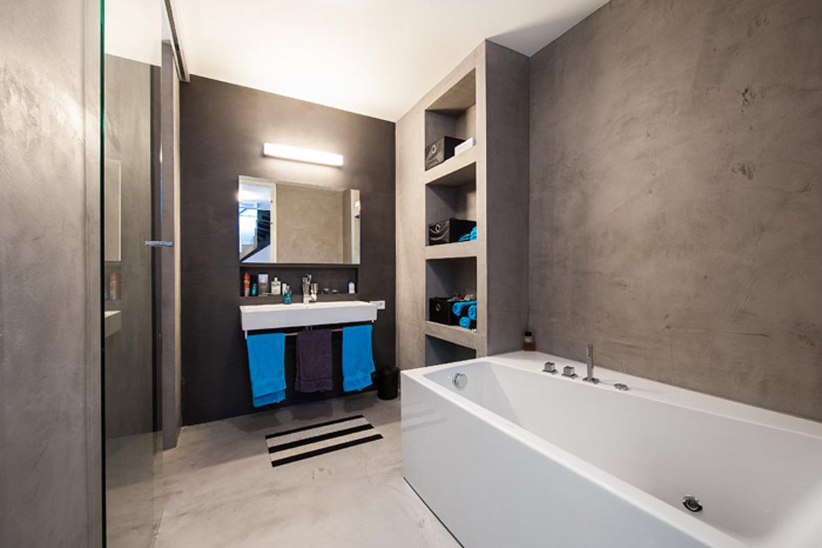 Houtlook tegels badkamer thomas gaspersz for Badkamer tegels