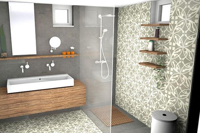 Emejing Hoeveel Tegels Heb Ik Nodig Badkamer Gallery - House Design ...