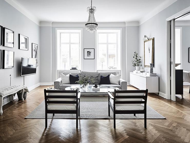 Woonkamer Lichte Kleuren : Donkere kleuren woonkamer