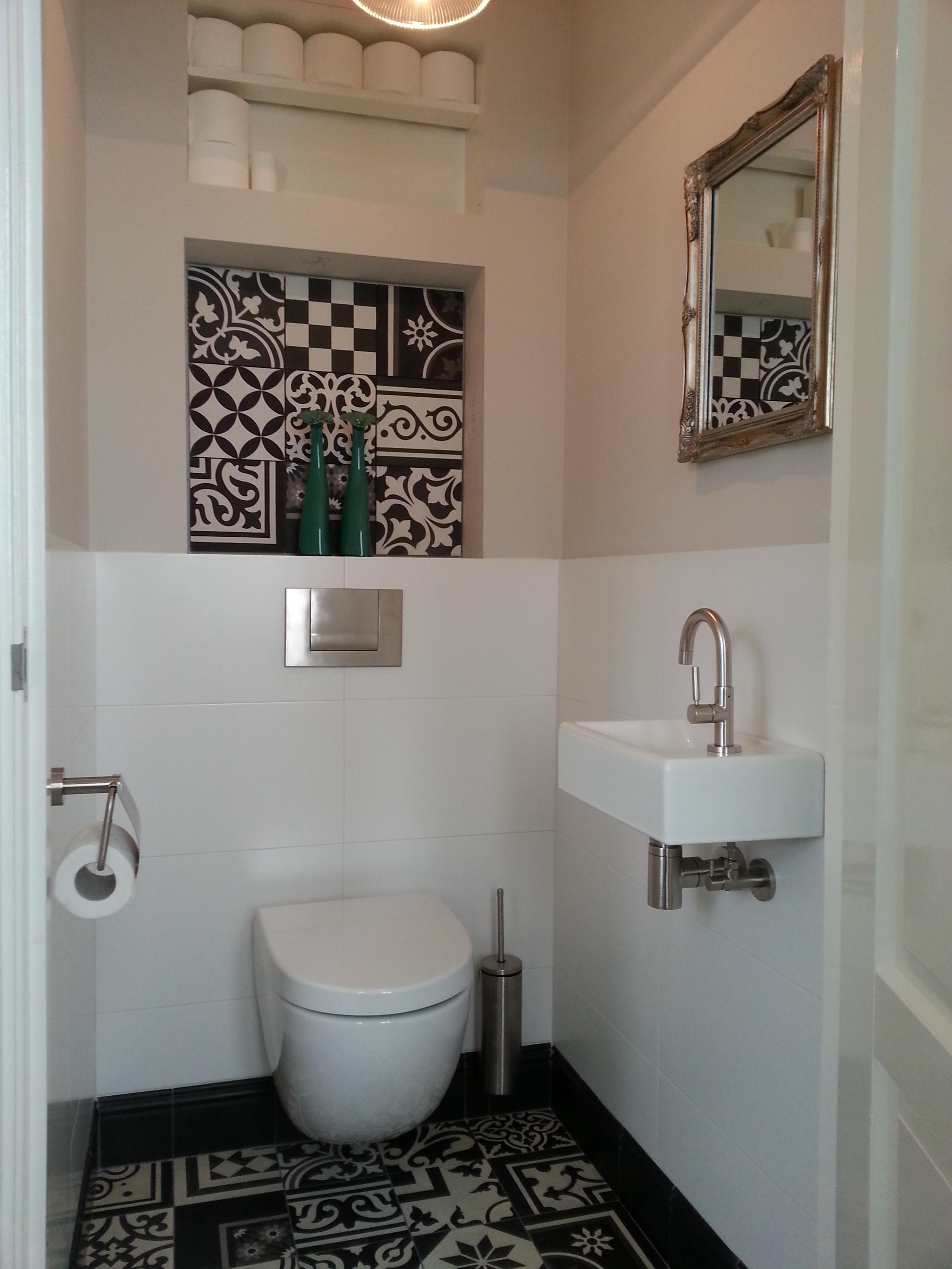 Portugese tegels toilet tg wonen woonmagazine - Origineel toilet idee ...