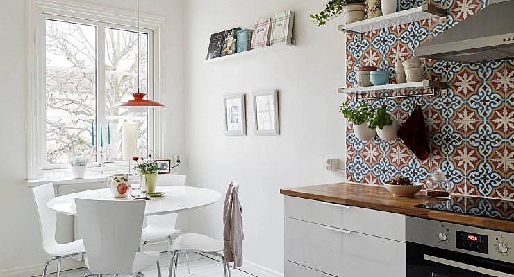 Portugese tegels in keuken