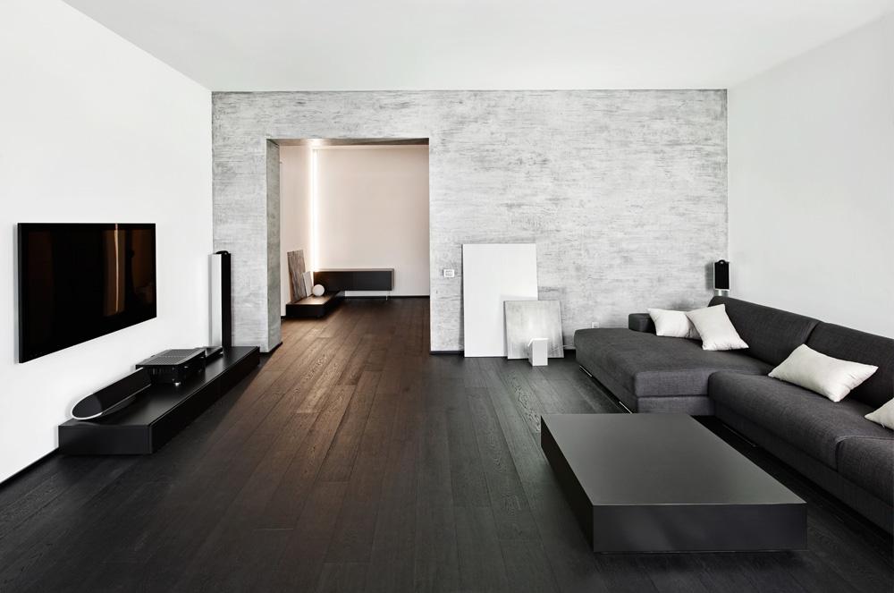Zwarte vloer welke kleur meubels - THOMAS GASPERSZ