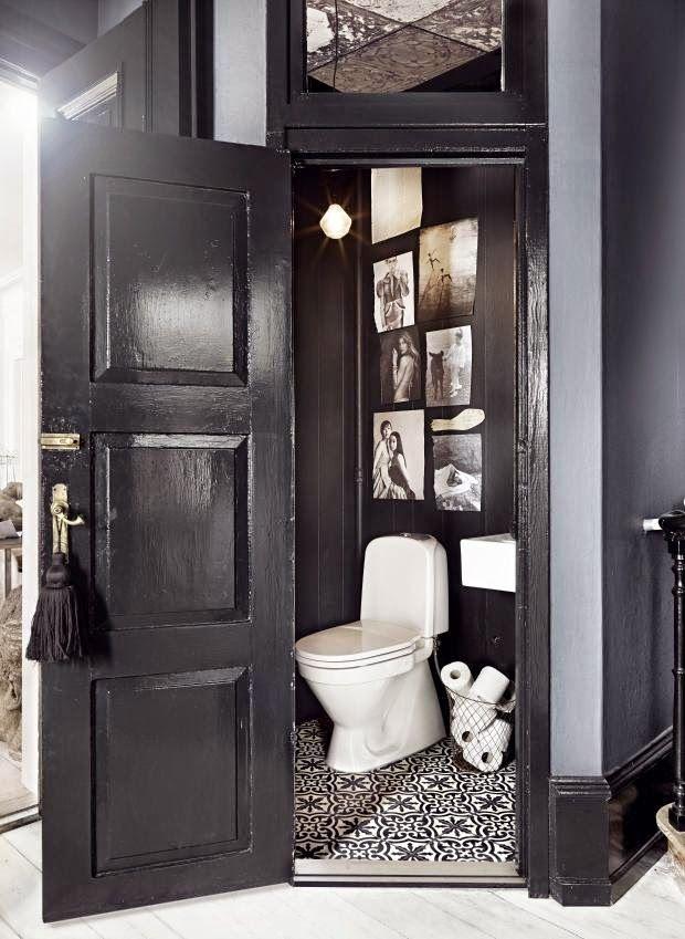 Tg wonen woonmagazine woon en klusmagazine inspiratie blog - Zwart wit toilet ...