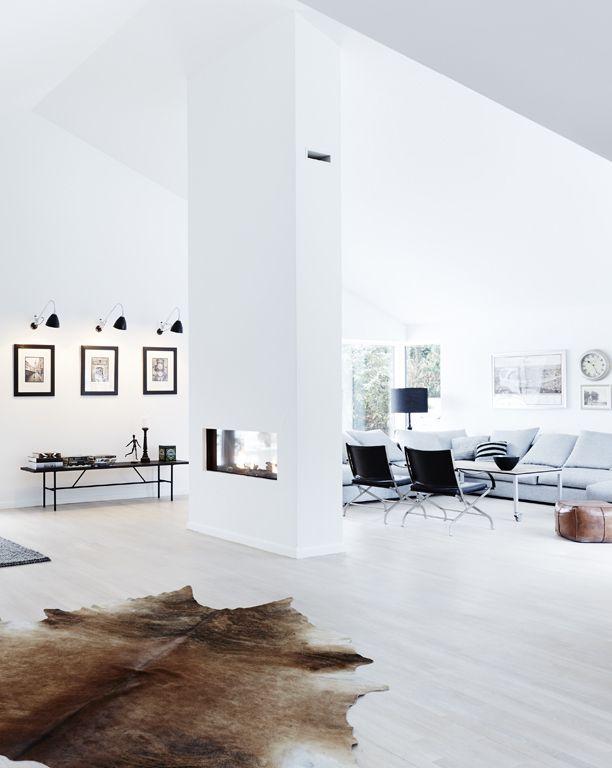 Bruine Koeienhuid Interieur