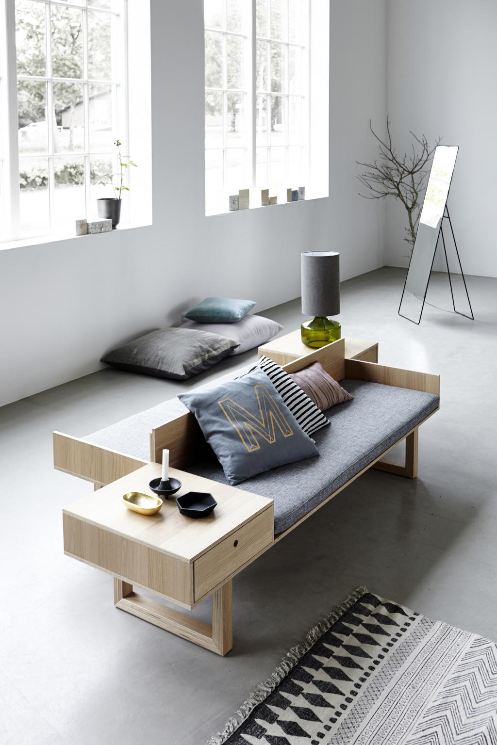 Vloerkleed Bauhaus Scandinavisch