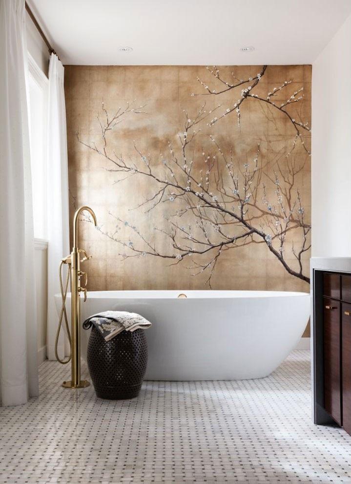 Favoriete Behang voor in de badkamer - THOMAS GASPERSZ #FR12
