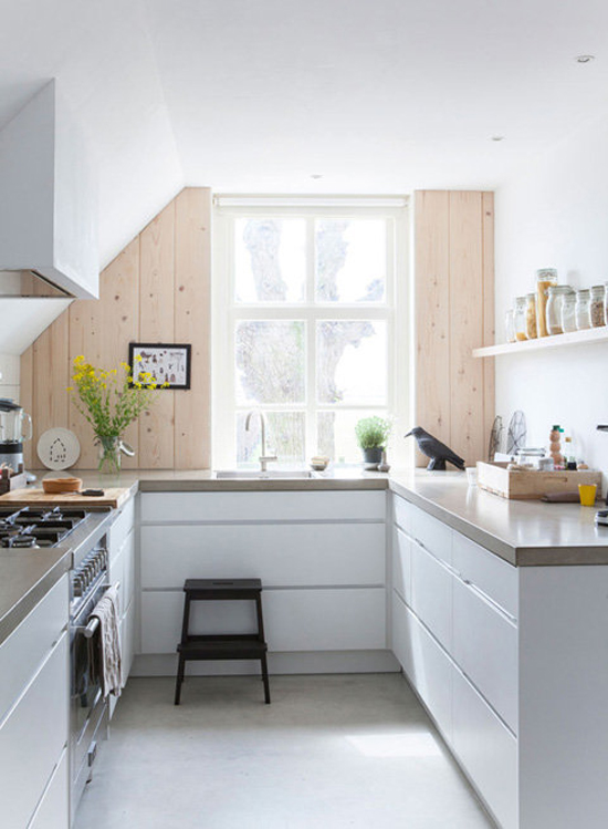 Keuken in containerwoning