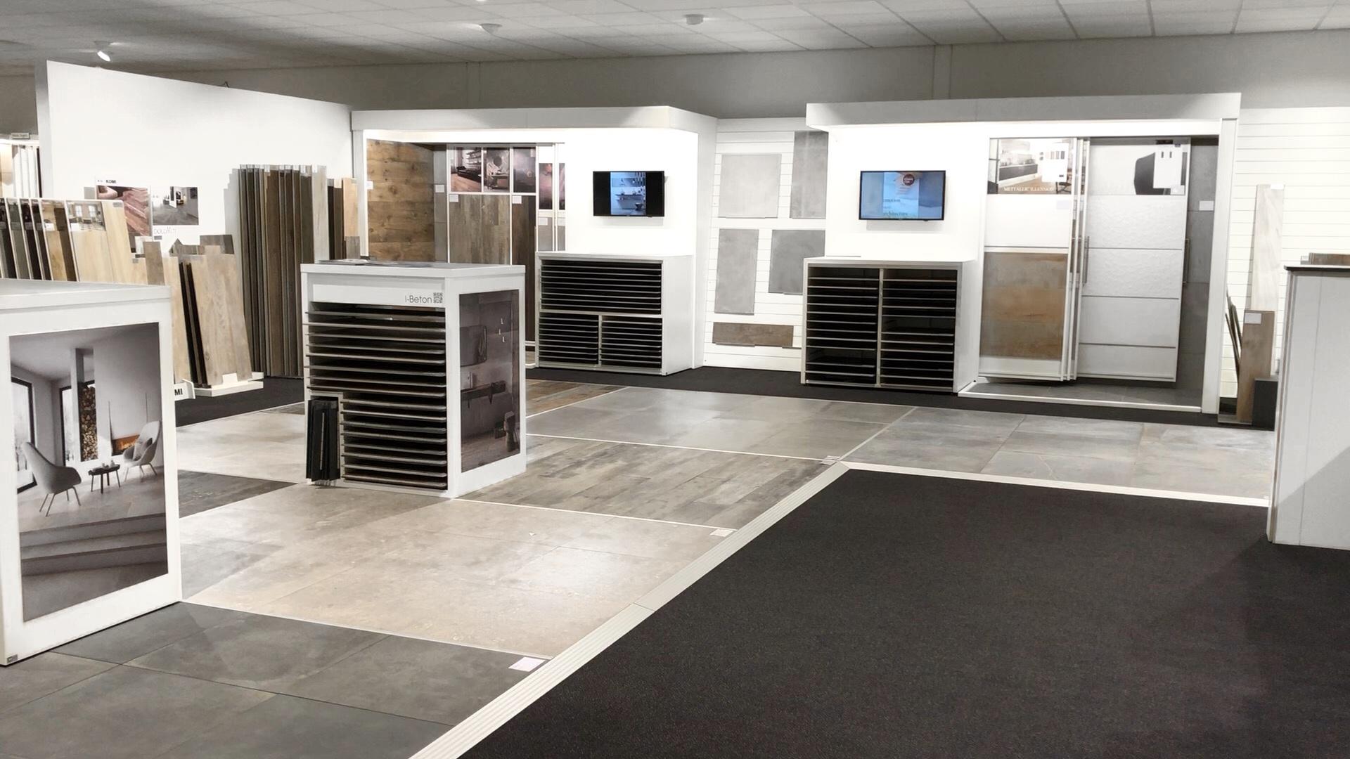 Julius van der Werf Tegel Showroom Groningen