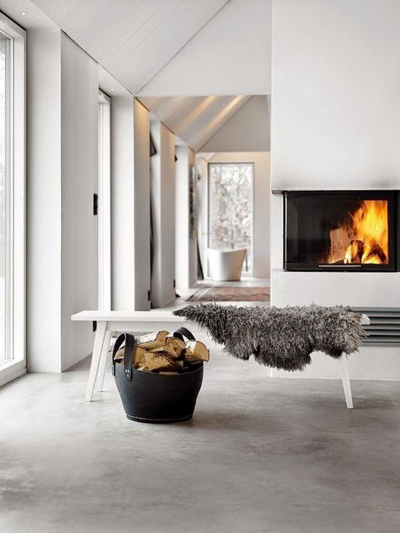 Betonlook tegels woonkamer of gietvloer