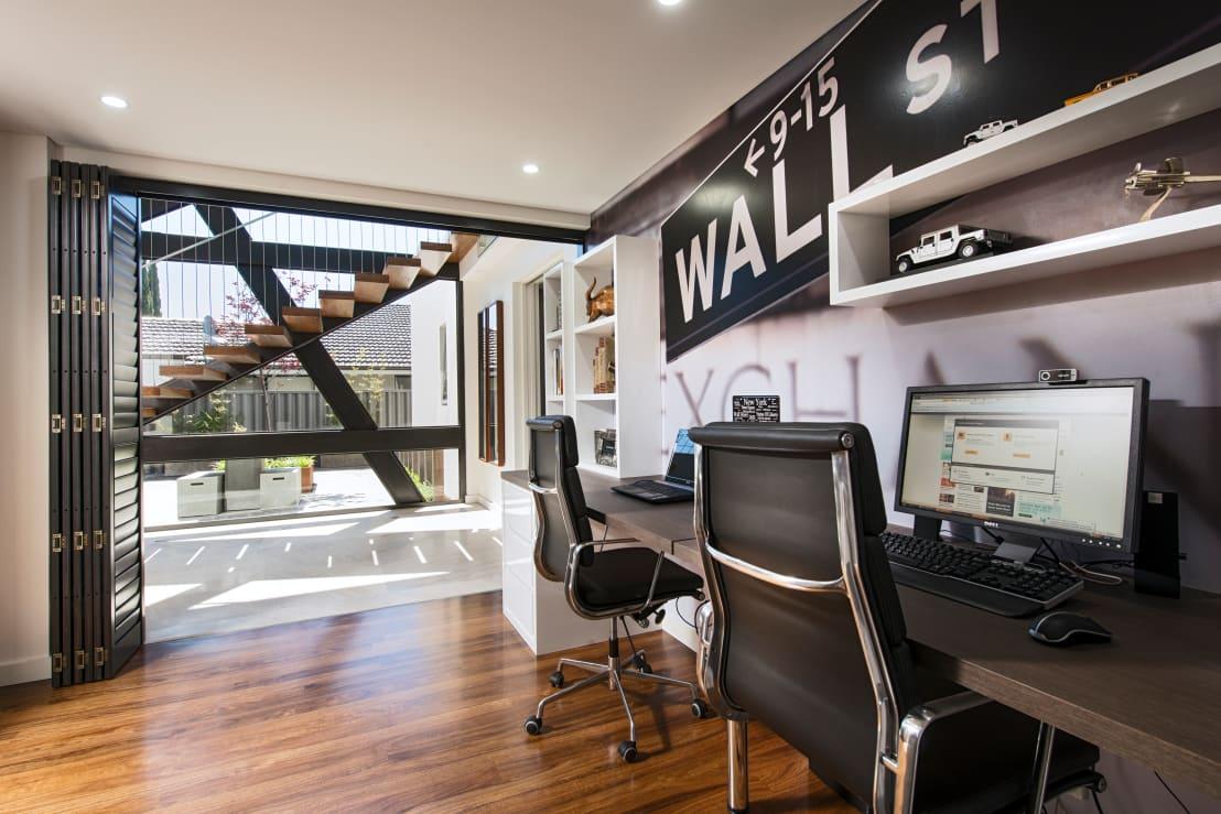 Thuiskantoor Voorbeelden Thuiskantoor inspiratie Werkkamer inrichten