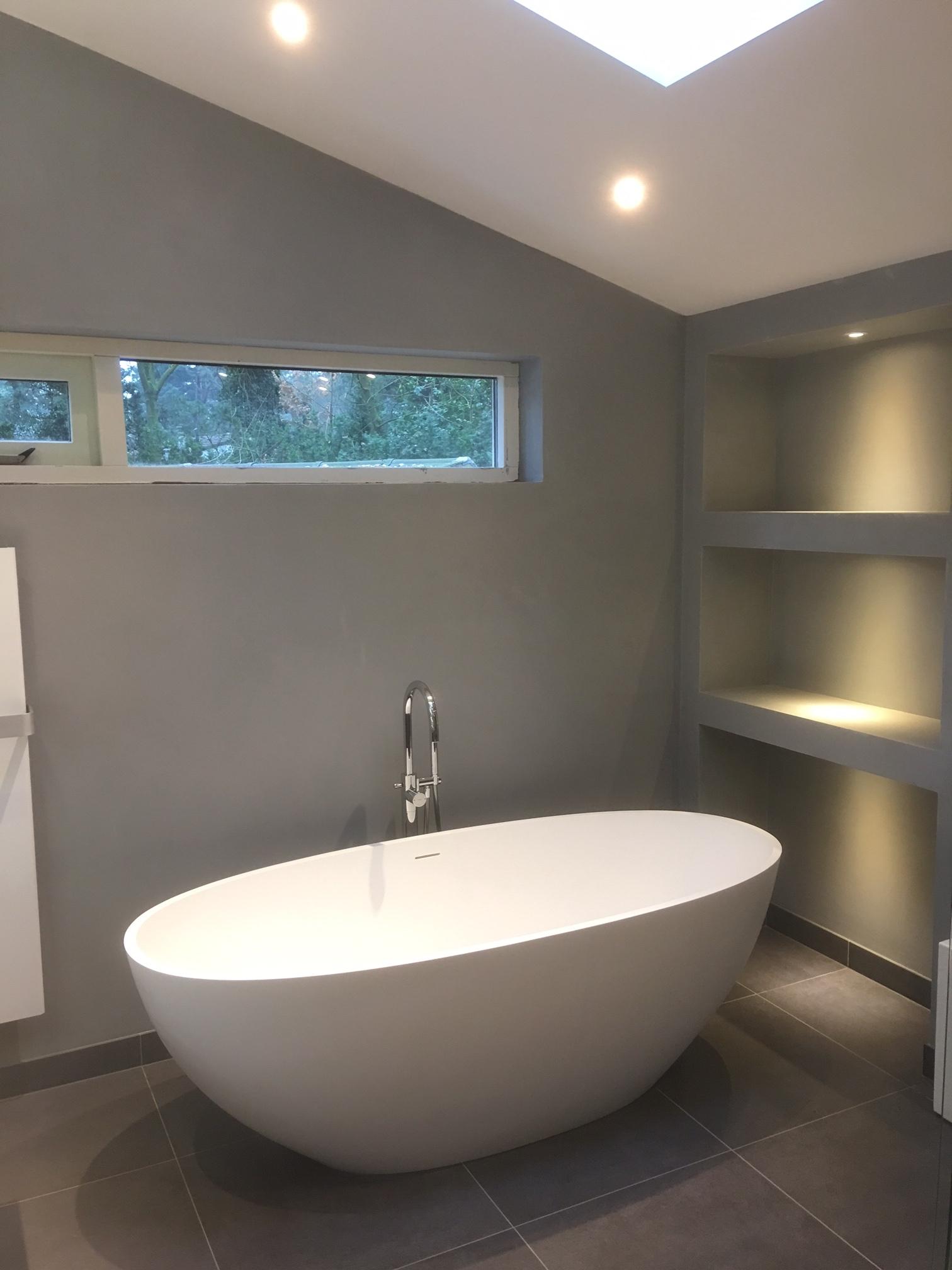 Nieuw Beton cire of tegels badkamer - TGWONEN XE-77