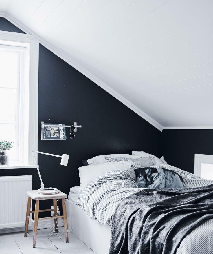 Dekbedovertrek Inspiratie Slaapkamer Industrieel Zwart Wit