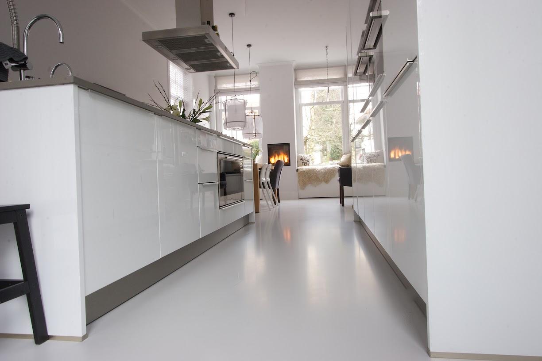Wat voor vloer in de keuken gietvloer