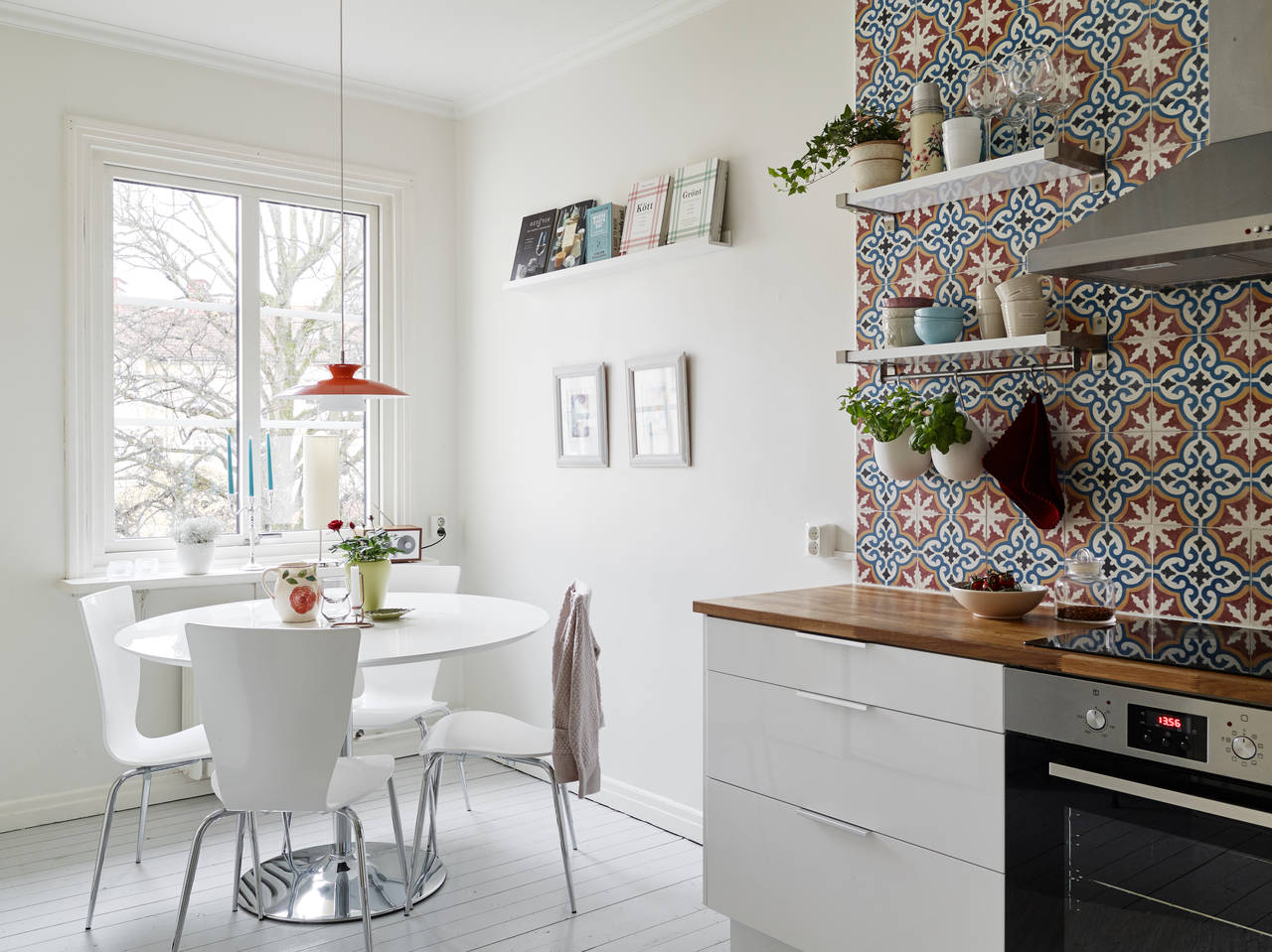 Portugese Tegels in Keuken Achterwand Kleur
