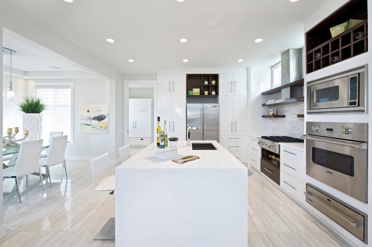 Wat voor vloer in de keuken inspiratie