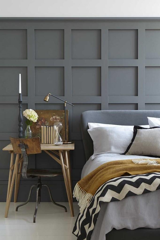 Welke kleur in de slaapkamer grijs